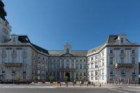 Architektura zdjęcie stylowego budynku w Warszawie